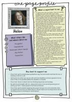 Using One Page Profiles for your special needs child