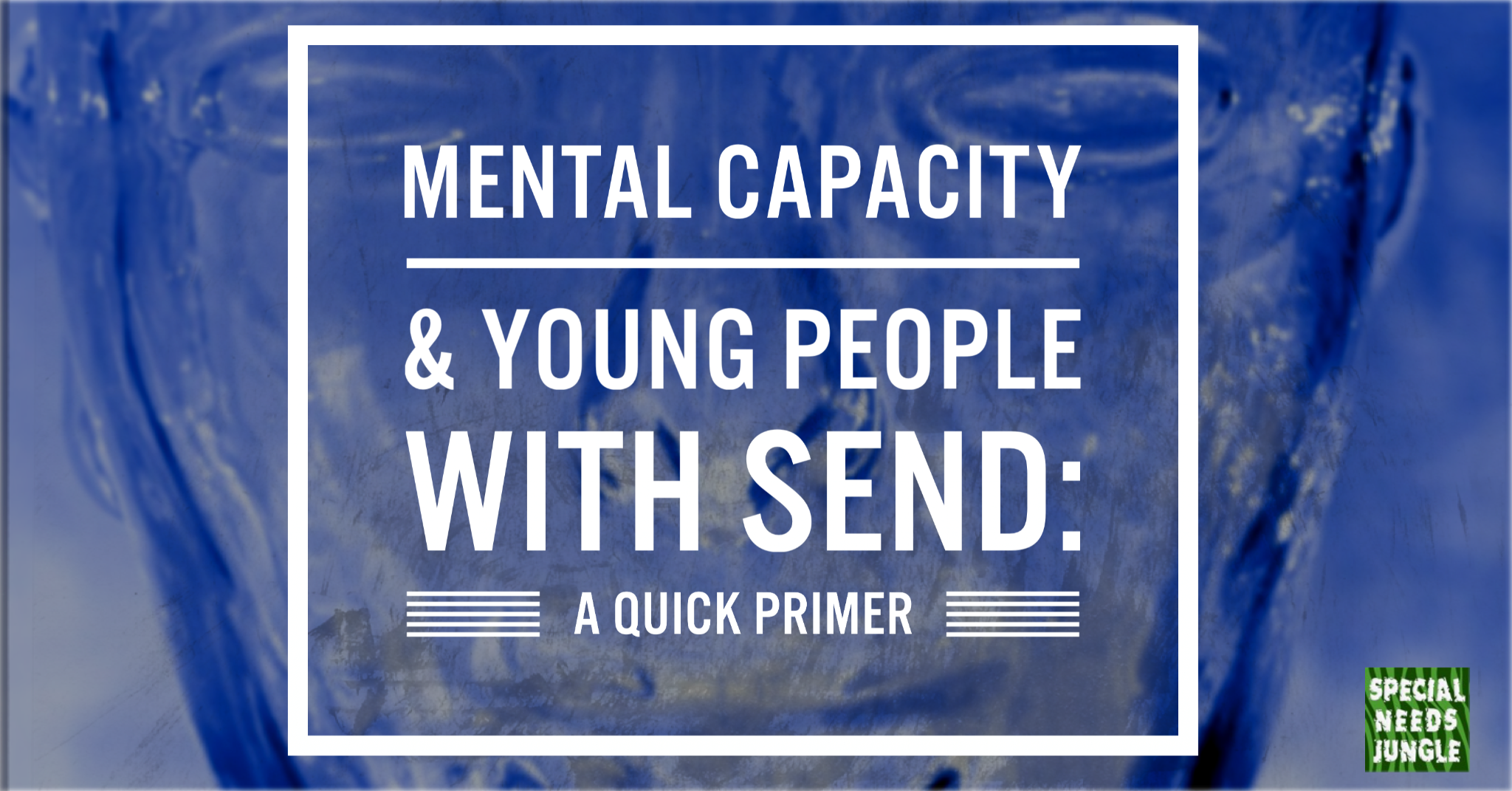 Mental Capacity and young people with SEND: A quick primer