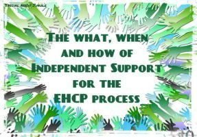 The what, when and how of Independent Support for the EHCP process