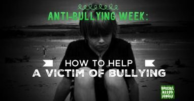 Anti-Bullying Week: How to help a victim of bullying