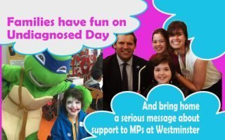Undiagnosed and raising awareness to patients, professionals and parliament