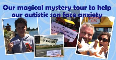 Our magical mystery tour helped our autistic son deal with anxiety