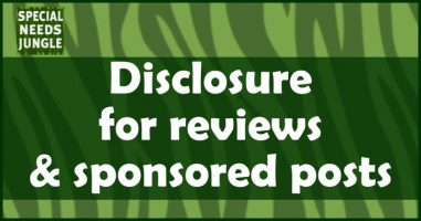 Disclosure for reviews & sponsored posts