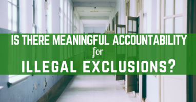 Is there meaningful accountability for illegal exclusions?