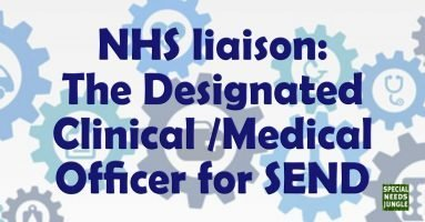 NHS liaison: The Designated Clinical /Medical Officer for SEND