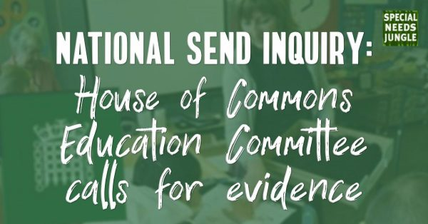 National SEND Inquiry: House ofCommons Education Committee calls for evidence