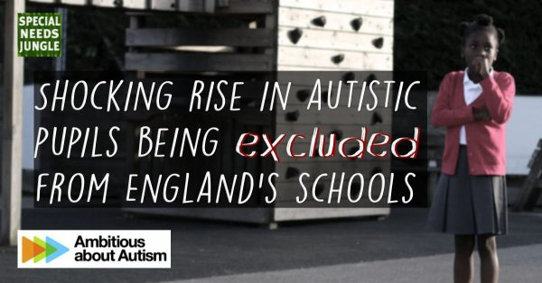 shocking rise in autistic pupils excluded