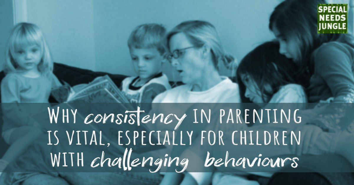 consistency parenting vital especially children challenging behaviours